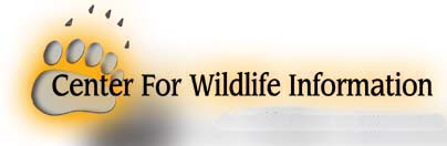 Center for Wildlife Information a 501(c)(3) Non-profit Organization